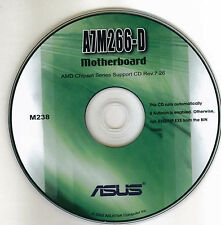 ASUS A7M266-D  Motherboard Drivers Installation Disk M238