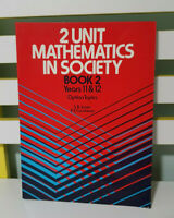 2 UNIT MATHEMATICS IN SOCIETY BOOK 2 YEARS 11 &12 RED COVER TEXTBOOK