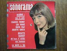SONORAMA 29(4/61) GRECO FERRE BARDOT JEAN-CLAUDE PASCAL