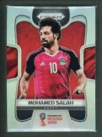 2018 MOHAMED SALAH PANINI PRIZM WORLD CUP FIFA WORLD CUP RUSSIA 2018 SILVER