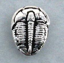 Trilobite post earrings, Hand Crafted Sterling Silver, Elrathia kingi Delta Utah