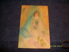 Vintage Christmas Card, MMA Cards of Distinction B-29, Mother Mary & Baby Jesus