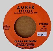 LEGEND'S KEEPER - CLASS REUNION b/w SUITE : DREAMS - AMBER 45 - 1978