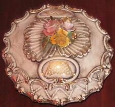 """Ceramiche Di Bassano """" BISCOTTIERA """" Dipinta  A Mano"""
