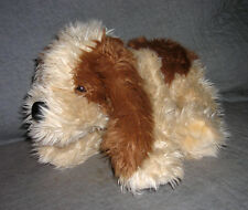TL Toys  brown cream plush  puppy dog     14 inch   excellent     smoke free