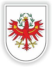 Tirol Tyrol Coat of Arms Sticker Austria Italy South sudtirol Helmet Door Guitar