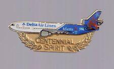 1996 Delta Airlines Centennial Spirit Olympic Pin Atlanta Jet Plane 2