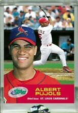 2001 ALBERT PUJOLS RC ETOPPS IN-HAND CHROME-LIKE