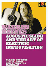 WARREN HAYNES - ACOUSTIC SLIDE & ELECTRIC GUITAR DVD