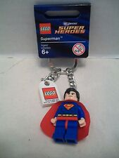 Lego #853430 Superman DC Universe Super Heroes Key Chain RHTF With Tag NIB 2012