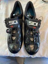 Sidi Wire Vent Carbon Men's Road Bike Shoes, Black/Black, 48 EU