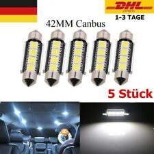 LED Soffitte 42mm 3 5050 SMD weiß Innenraum Soffite Beleuchtung Xenon Canbus*5