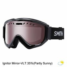 Smith Knowledge OTG Snow Goggle (Black Frame / Ignite Mirror Lens / One Size)