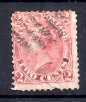 British Canada 1859 2c rose fine used #20 WS18096