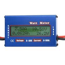 LCD Digital 60V 100A RC Helicopter Battery Power Analyzer Watt Meter Balancer