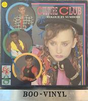 "CULTURE CLUB ""COLOUR BY NUMBERS "" LP (1983)VIRGIN RECORDS V2285 EX CON VINYL"