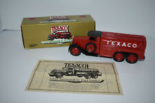 ERTL 1930 Texaco Diamond T Fuel Tanker Die Cast Bank - NIB
