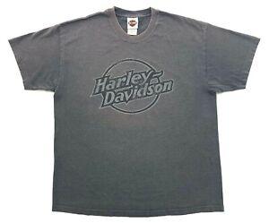 Vintage Harley Davidson Spirit 2005 Tee Dark Grey Size XL Mens T-Shirt