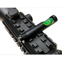 Hunting Metal Spirit Bubble Level fit 20mm Picatinny Weave Rail for Rifle Scope