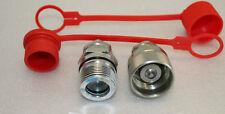 Hydraulik Schraubkupplung 15-L Stecker & 15L M22x1,5 Muffe HDK BG3 Neu Gr. 3