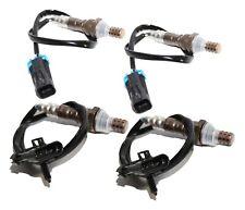 4 Pieces Oxygen Sensor Fit Chevy GMC Sierra Savana Silverado 234-4012 234-4018