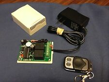 110v 2CH RF Wireless Remote Control Momentary/Toggle/Latch C wall wart house