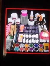 New! Complete large package of Nail Art Starter Kit, includes practice finger