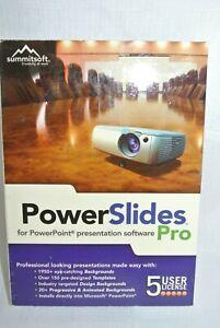 Summitsoft PowerSlides Pro 5 user license New-Sealed-