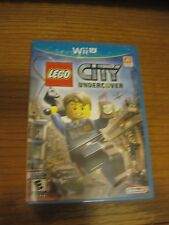 LEGO City Undercover (Nintendo Wii U) NEW Original First Print Free Shipping