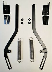 1971-1975 Oldsmobile Convertible Top Glass Support Arms Springs & Bracket-Set