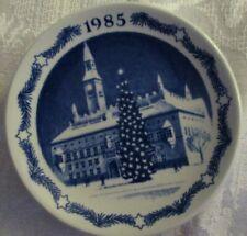 Vintage Royal Copenhagen 1985 Decorative Christmas Plate