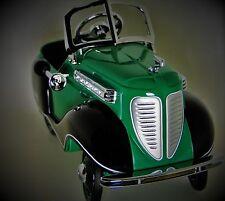 Duesenberg Pedal Car Vintage Race Sport 1930s Two Tone Rare Midget Metal Model