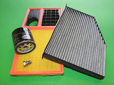 Ölfilter Luftfilter Pollenfilter VW Golf 5 6. Golf Plus 1.4 16V (59kW)  BUD/CGGA