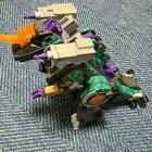 Giga Storm No Box Does not work Takara Transformers Beast Wars D-22