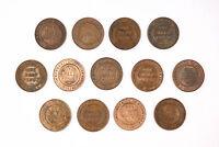13x High Grade 1913 - 1939 Half Penny 1/2d Australian Coins