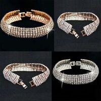 mode silber - gold lady frauen hochzeit armreifen armband crystal jahrgang