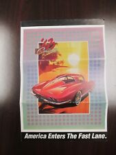 Franklin Mint Paperwork 1963 Chevy Corvette