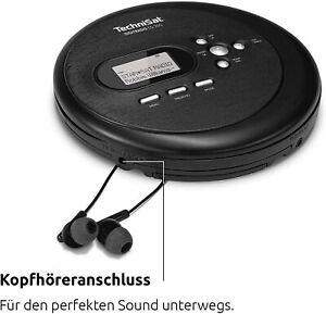 TechniSat DIGITRADIO CD 2GO Personal CD player Black DIGITRADIO CD 2GO, 264 g, B