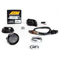 AEM Wideband O2 UEGO Air Fuel Gauge AFR Controller 2-1/16 4.9 LSU Sensor 30-4110
