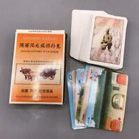 Vintage Shanxi Scenery Playing Cards China