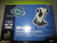 Linksys Wireless B Internet Video Camera -  Model WVC11B - 2.4GHz 802.11b 11Mbps
