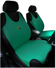 2 Green Front Vest Car Seat Covers Protectors For Hyundai I40