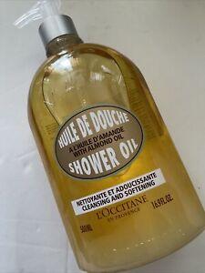 L'Occitane Almond Shower Oil 500ml Pump Top Softening Moisturising
