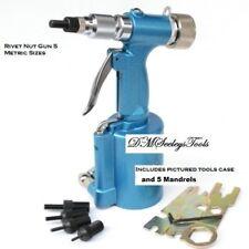 Riv Nut Pneumatic  rivet  threaded insert tool nut riveter with 5 metric sizes