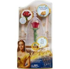 Beauty and The Beast- Disney Enchanted Rose Jewelry Box-brand New!