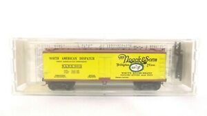 Kadee Micro Trains N HM Noack Sons American Despatch 40' Refrigerator Car 49030