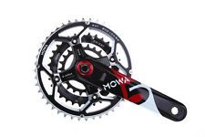 MOWA Five Mountain Cycle Bike Triple Cycling Crankset 44/32/22t 170mm Black