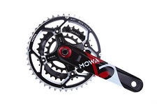 MOWA Five Mountain Bicycle Bike Triple Cycling Crankset 44/32/22t 170mm Black