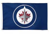 Winnipeg Jets Team Logo 3x5 Foot NHL Hockey New With Grommets