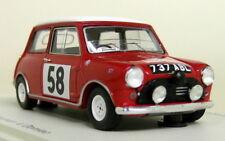 Spark 1/43 Scale S1189 Morris Mini Cooper Monte Carlo Rally 1963 Resin Model Car